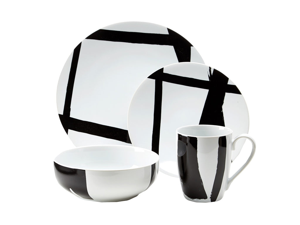 Urban Graffiti By DKNY for Lenox Dinnerware 4PPS