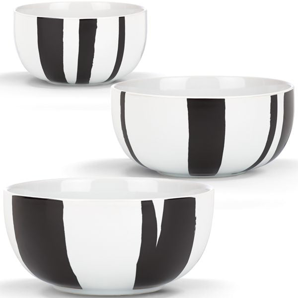 Urbam Graffiti By DKNY for Lenox Nested Bowls, Set of 3