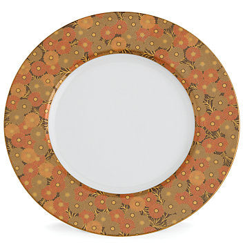 Gilded Tapestry Accent Plate for L by Lenox
