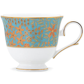 Gilded Tapestry Cup for L by Lenox