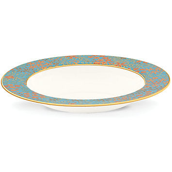 Gilded Tapestry Rim Soup Bowl for L by Lenox