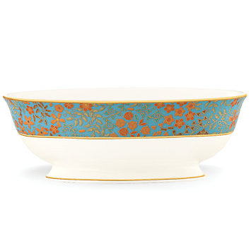 Gilded Tapestry Vegetable Bowl for L by Lenox