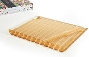 Striped Lucite Challah Board By Apeloig Collection With Knife