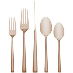 Malmo Rose Gold By Kate Spade Flatware 5PPS