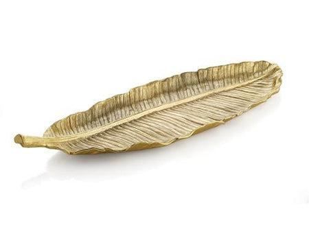 New Leaves By Michael Aram Banana Leaf Large Platter