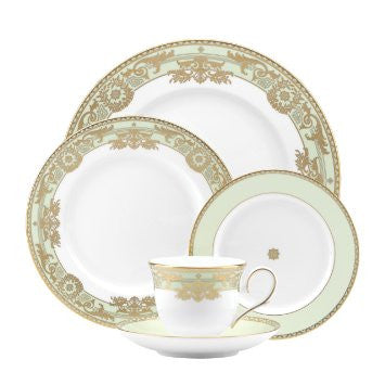 Rococo Leaf 5PPS Dinnerware By Marchesa for Lenox