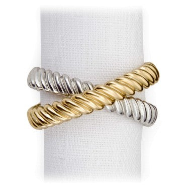 Deco Twist Napkin Jewels By L'Objet, Set of 4