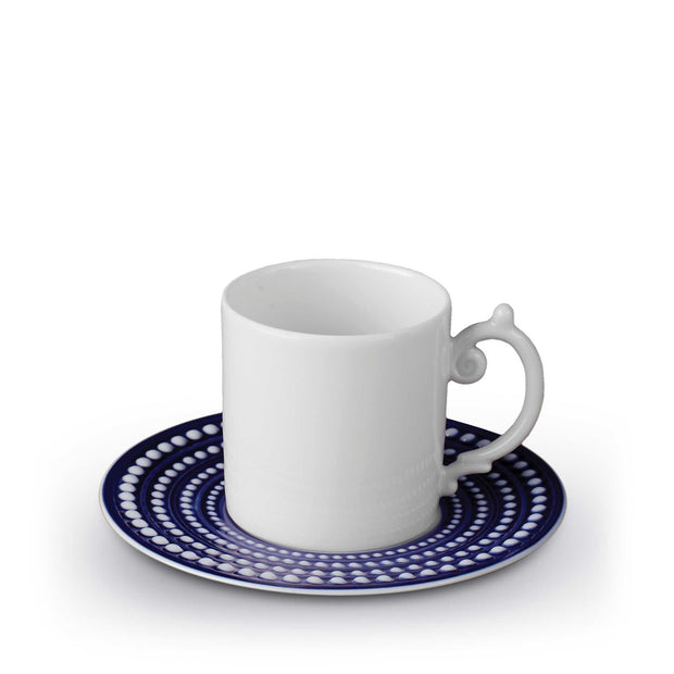 Perlee Espresso Cup and Saucer By L'Objet