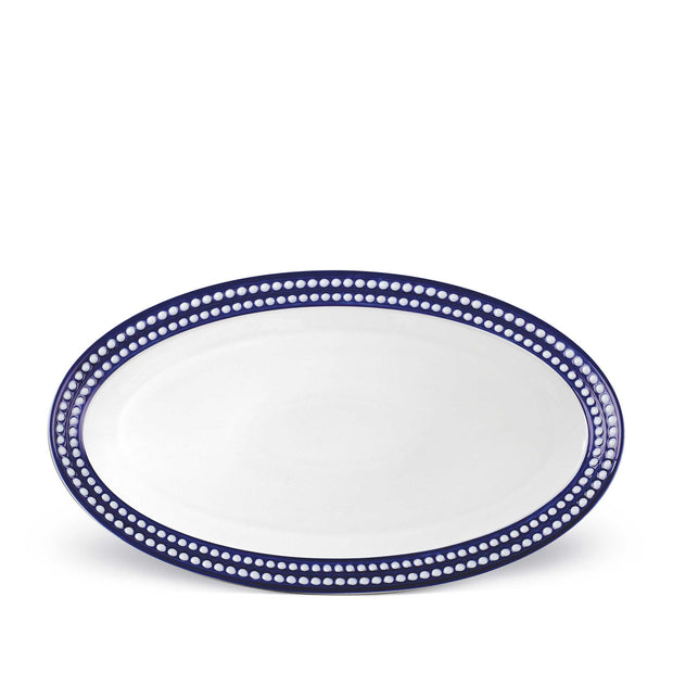 Perlee Large Oval Platter By L'Objet