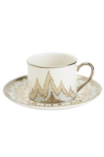 Pickfair Cup & Saucer By Kelly Wearstler for Pickard