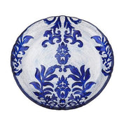 "Damask Canape 6.5"" Dessert Plate By Red Pomegranate"