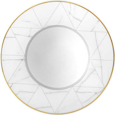 Carrara Marble Soup Plate By Vista Allegre