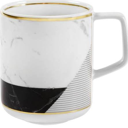 Carrara Marble Mug By Vista Alegre