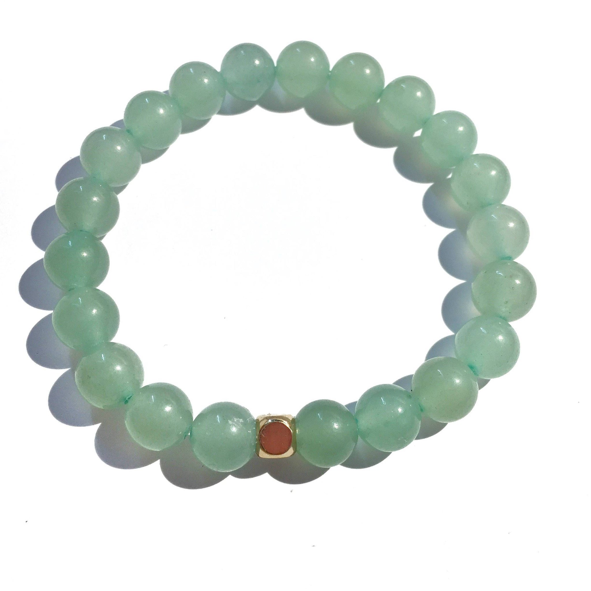 Gloss Green Aventurine (Good Fortune)