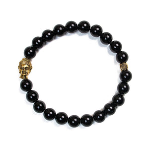 Gold Buddha Gloss Onyx (Strength)