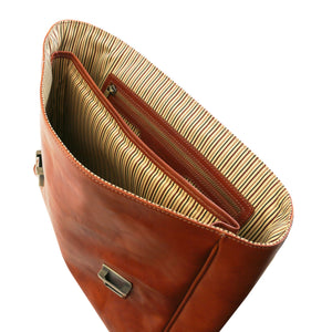 Trieste Exclusive Leather Laptop Case With 2 Compartments