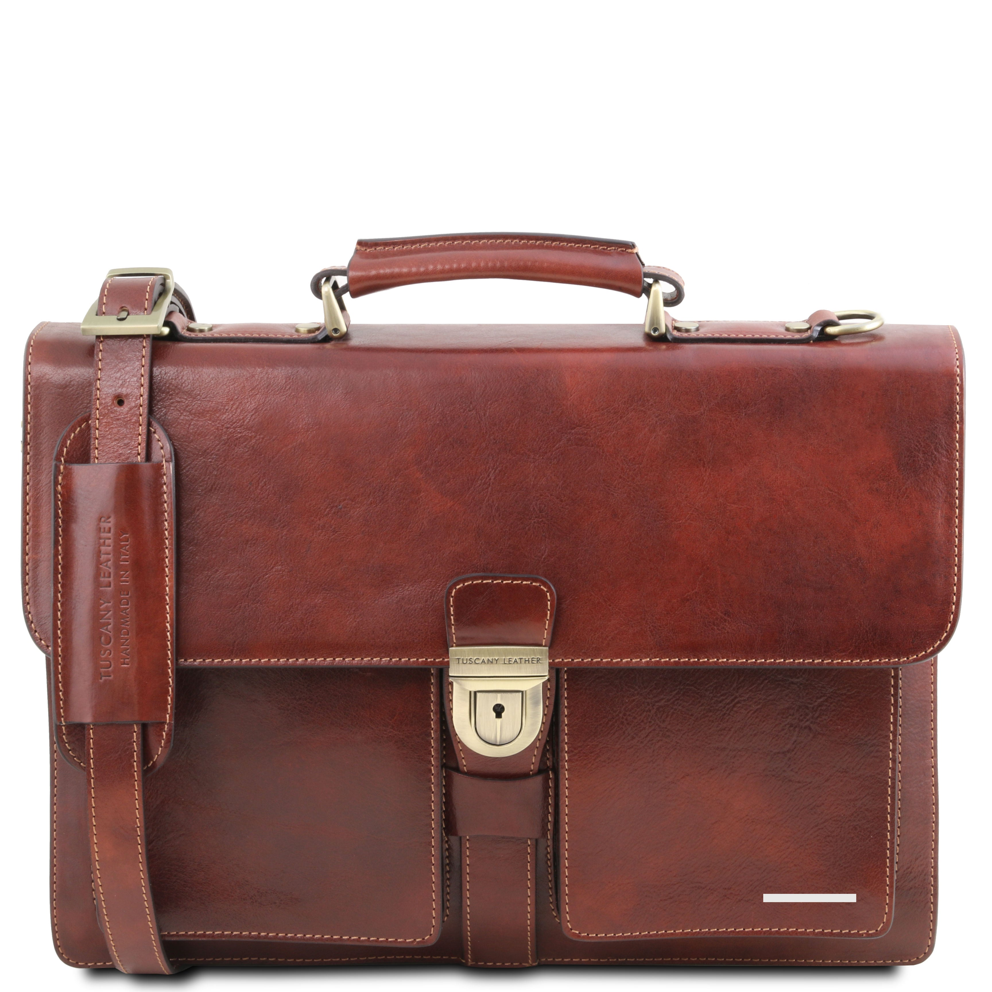 Assisi Briefcase 3 Compartments