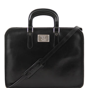 Alba Leather Briefcase for Women