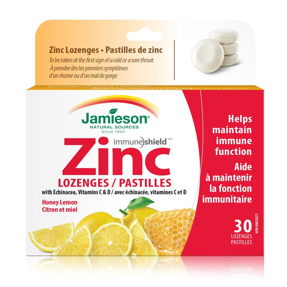 2655_Zinc Lozenges Pack White Background