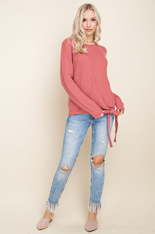 TIE SIDE Lauren Sweater