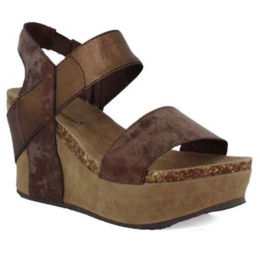 New Birkenstock look -a -like Wedges