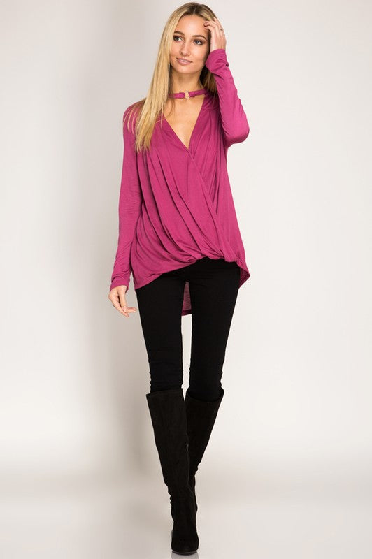 Violet Love Blouse