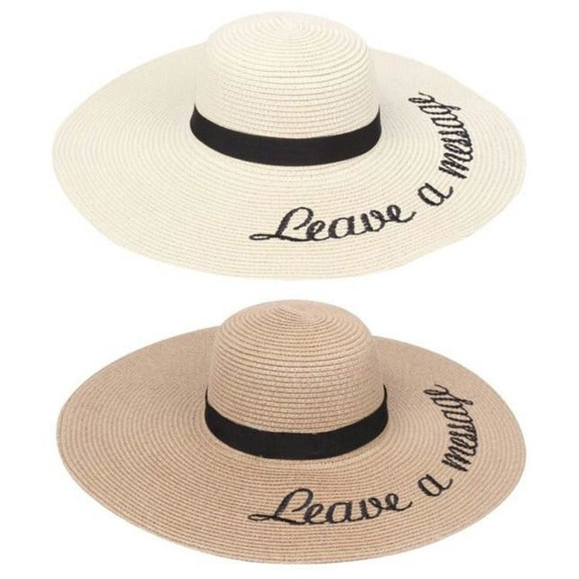Leave A Message Hat