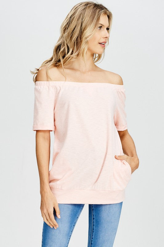 Off The Shoulder Bliss Top