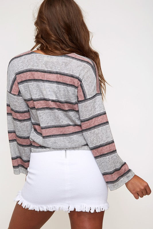 Bella Striped Top