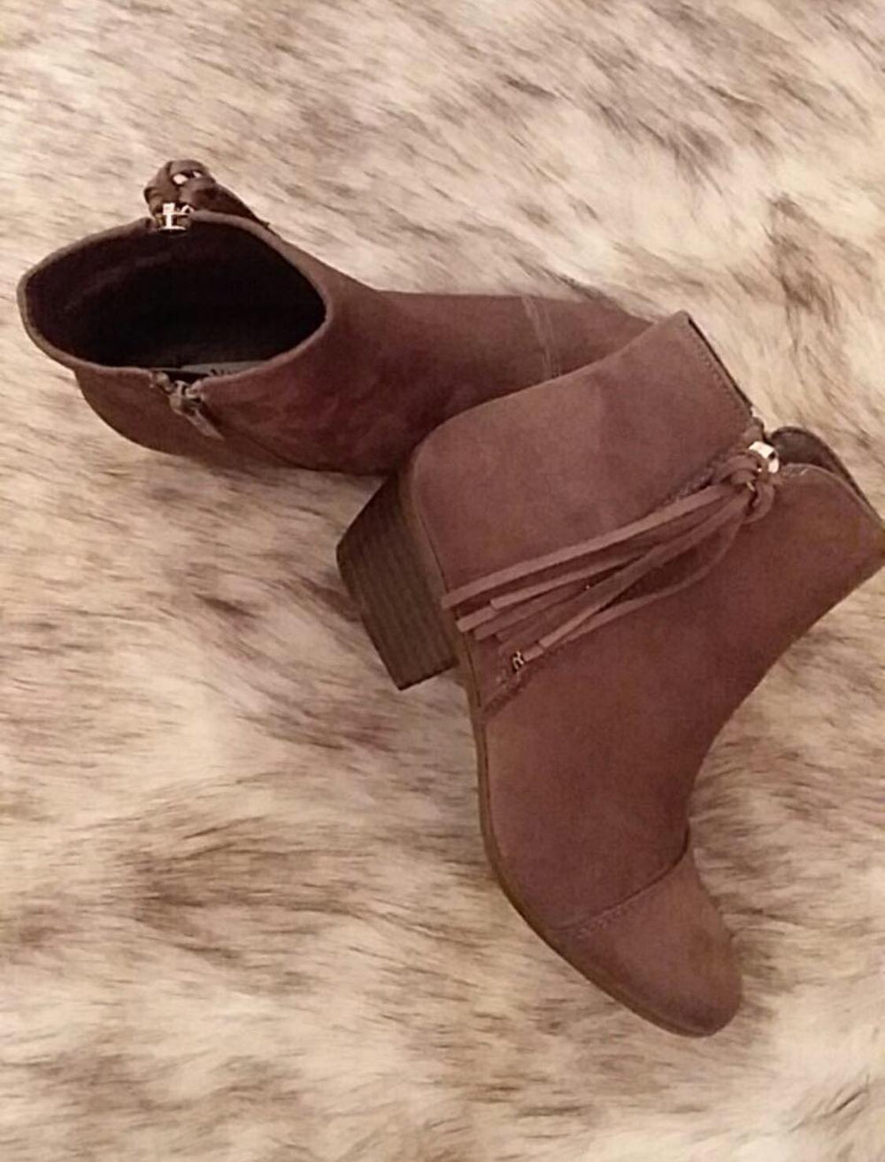Tassel Me Up Bootie