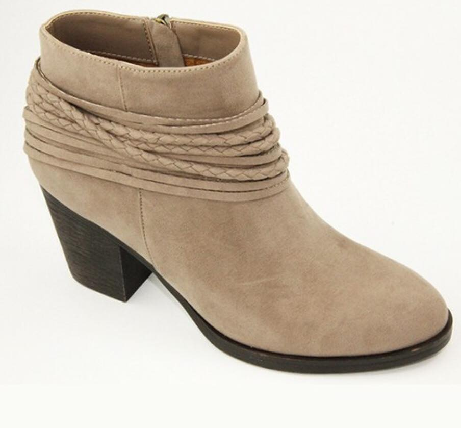 Roped Detail Ankle Bootie