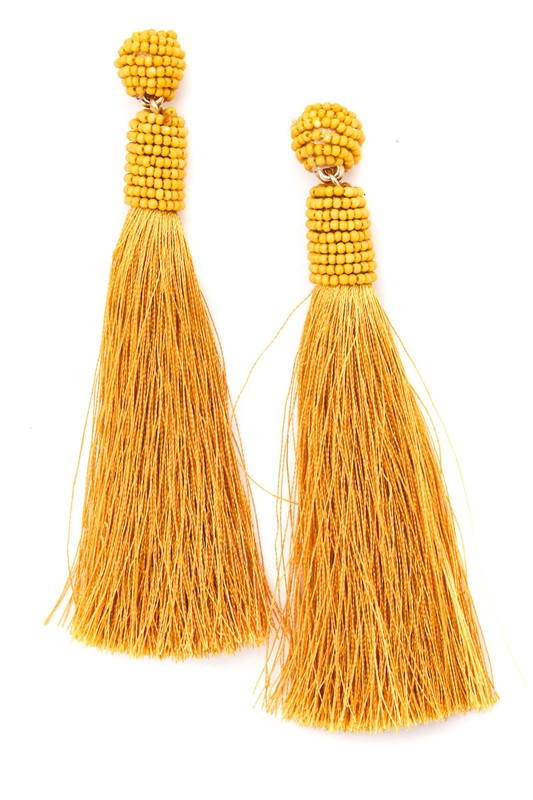 Dangle Me Up Tassel Earrings
