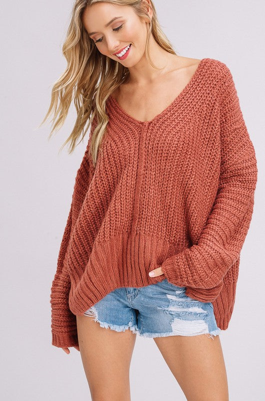 Brick London V- Neck Pullover