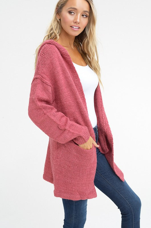 The Berry Grace Sweater Cardigan