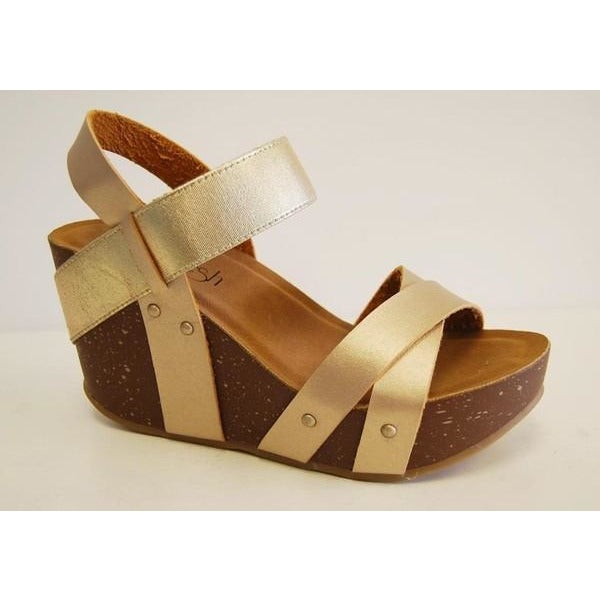 Gold Fun Wedges