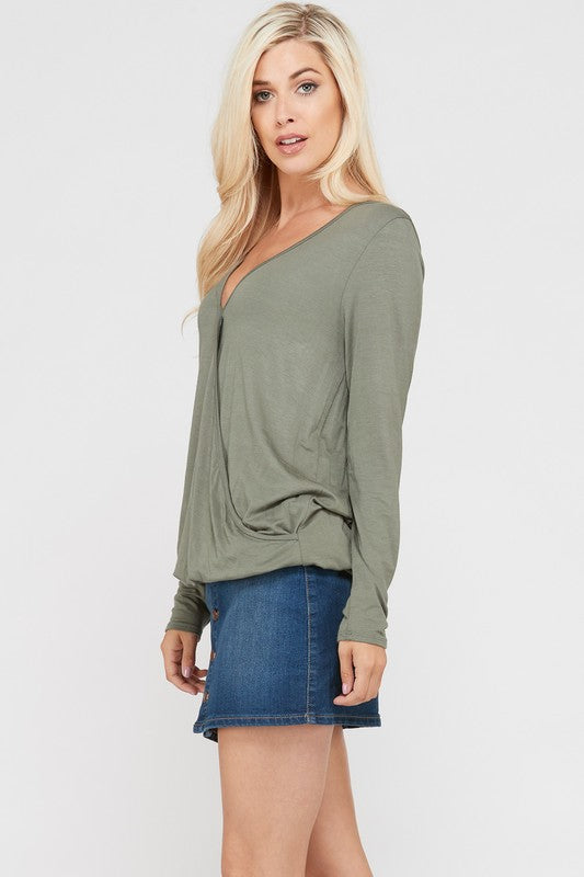 The Olive Brooke Blouse