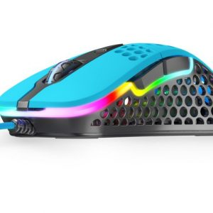 XTRFY M4 RGB ULTRA-LIGHT OYUNCU MOUSE – MIAMI BLUE