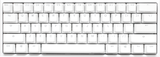Ducky One 2 Mini v2 RGB 60% Cherry Mx Red Türkçe Mekanik Klavye