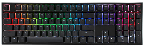 Ducky One 2 RGB LED Cherry Mx Red Türkçe Mekanik Gaming Klavye