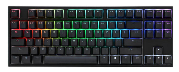 Ducky One 2 RGB TKL RGB Cherry Mx Red Türkçe Mekanik Klavye