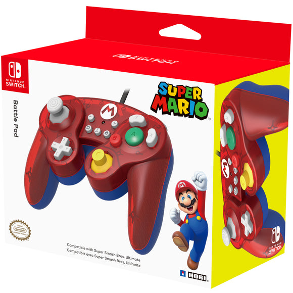 HORI Nintendo Switch Battle Pad Controller (Super Mario)