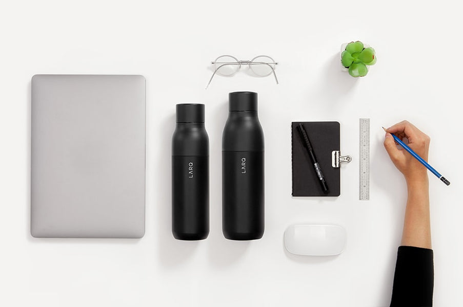 Say goodbye to plastic water bottles with LARQ