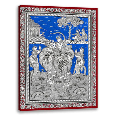 Naagdaman - Pattachitra Art