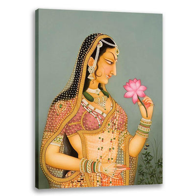 Lady with Lotus - Bani Thani