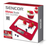 """SENCOR"" SKS 5024RD KITCHEN SCALE- RED"