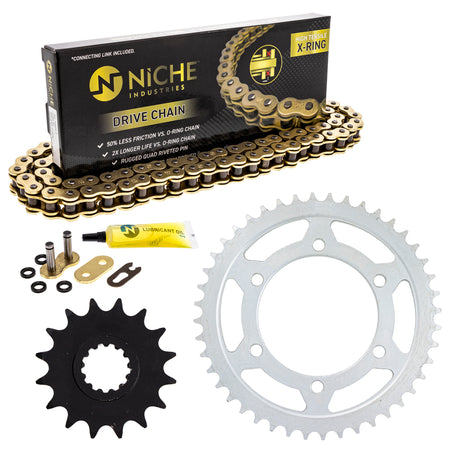 Drive Chain and Sprocket Kit for zOTHER FZ1 NICHE MK53011605