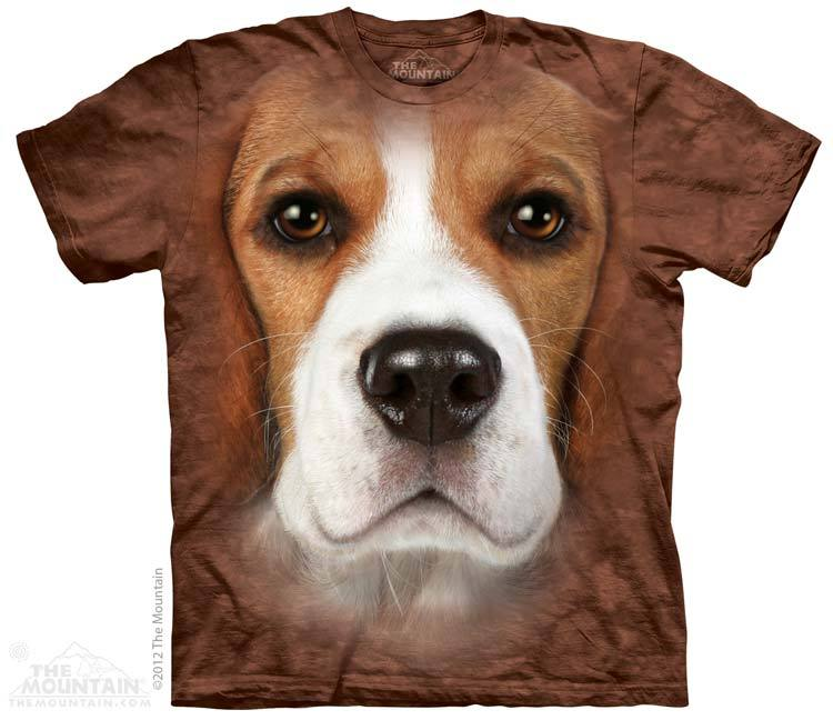 Beagle Face T Shirt