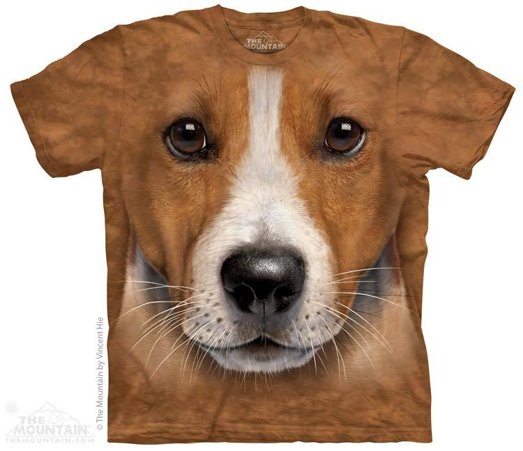 Big Face Jack Russell T Shirt