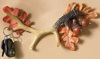 Antler & Acorns Key Holder