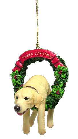 Golden Retriever Puppy Christmas Ornament